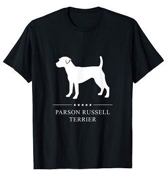 Parson-Russell-Terrier-White-Stars-tshir
