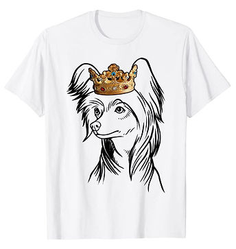 Chinese-Crested-Dog-Crown-Portrait-tshir