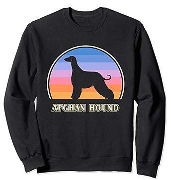 Vintage-Sunset-Sweatshirt-Afghan-Hound.j