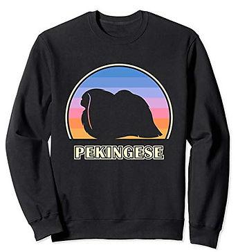 Vintage-Sunset-Sweatshirt-Pekingese.jpg