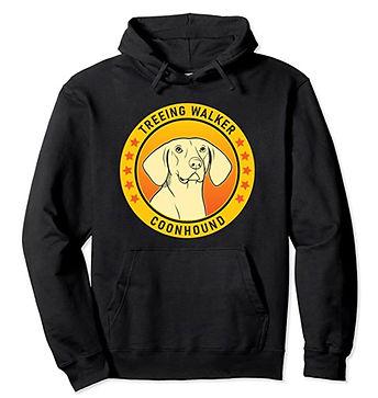 Treeing-Walker-Coonhound-Portrait-Yellow