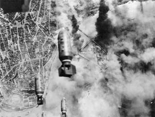 Bombing of Belgrade on Easter 1944.