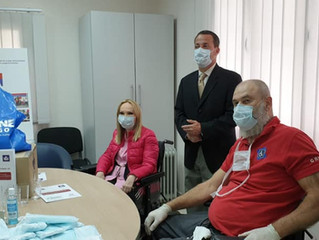Donation of masks for NOOIS
