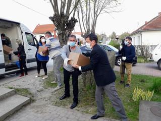 Humanitarian help for Pranjani