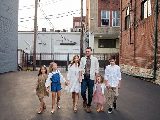 Bush Family | Downtown Kansas City