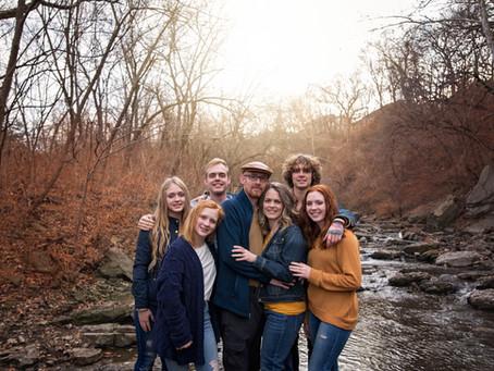 Lorenc Family   Lee's Summit Winter Creek