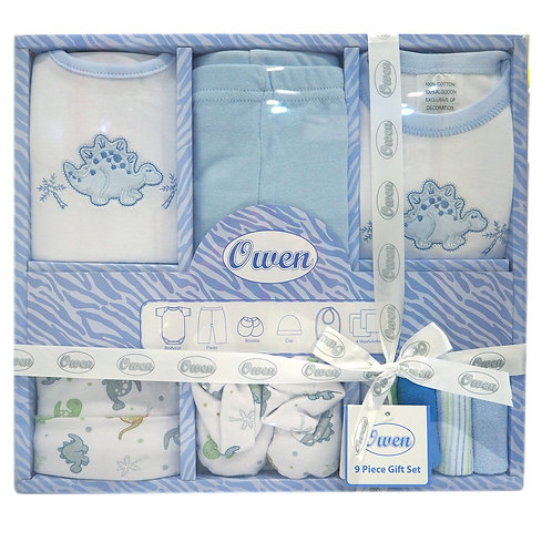 copy of Owen Baby 9-pc Gift Set - Blue
