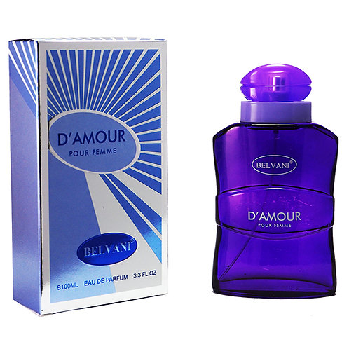 Belvani Perfumes for Women - D' Amour (100ml)