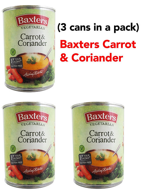 Baxters Carrot & Coriander  (3CANS)