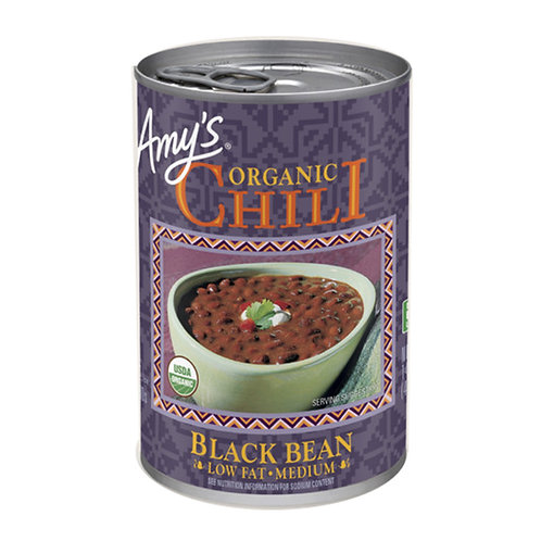Amy's Kitchen Organic Low Fat Black Bean Chili