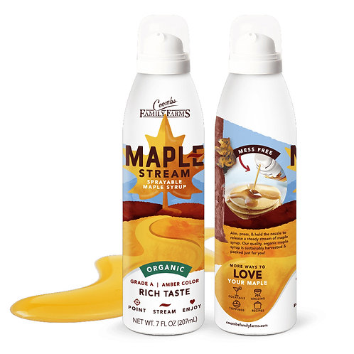 Coombs Maple Stream Sprayable Syrup