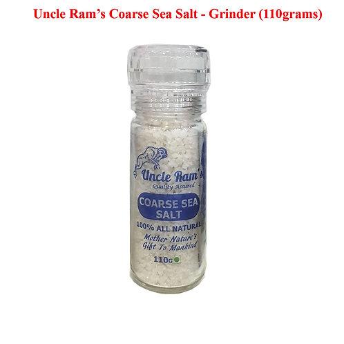 Uncle Ram's 110g Bottle Grinder Sea Salt
