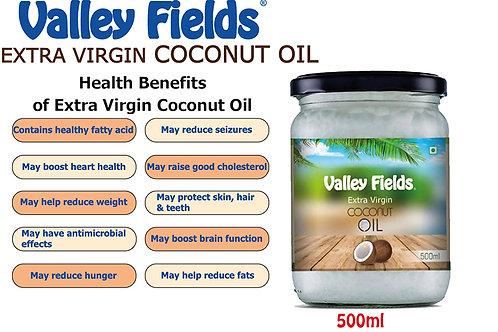 Valley Fields Extra Virgin Coconut Oil (500ml)