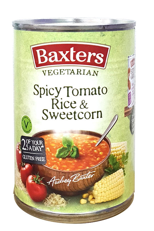 Baxters Spicy Tomato Rice & Sweetcorn