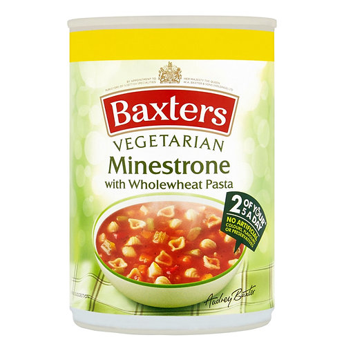 Baxters Minestrone with Wholewheat Pasta