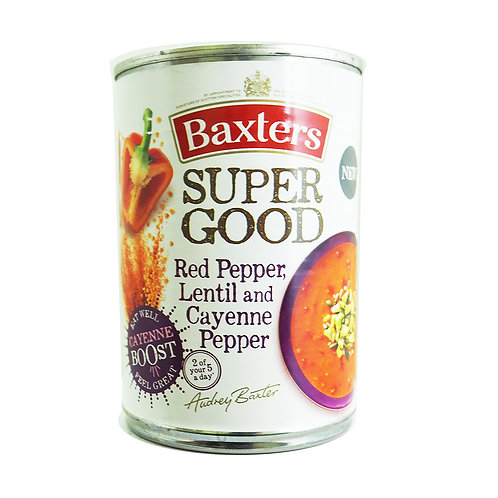 Baxters Red Pepper, Lentil and Cayenne Pepper