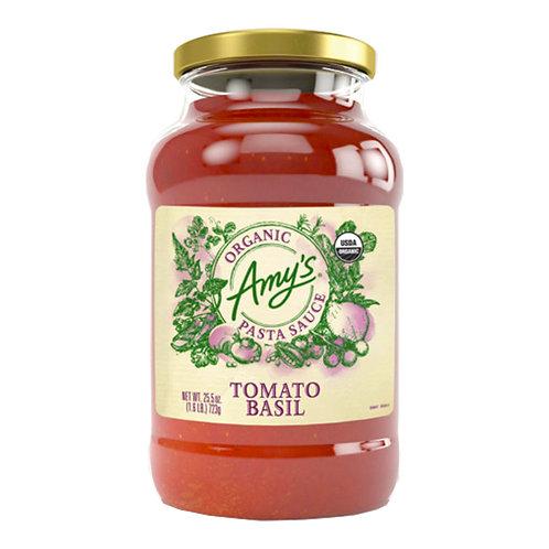Amy's Kitchen Organic Tomato Basil Sauce