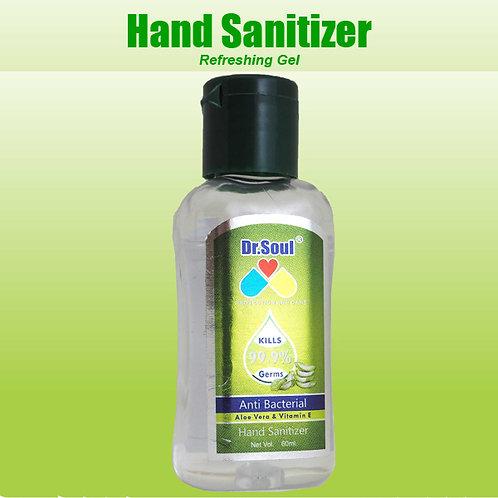 Dr Soul Hand Sanitizer (60ml)