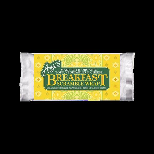 Amy's Kitchen Breakfast Scramble Wrap