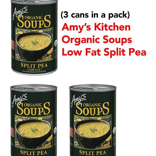 Amy's Kitchen Low Fat Split Pea (3CANS)