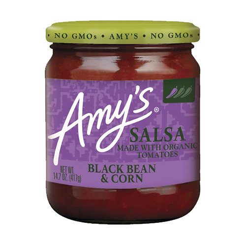 Amy's Kitchen Organic Tomato with Black Bean & Corn Salsa