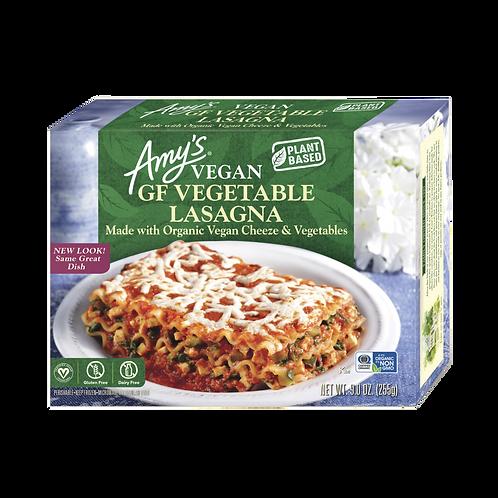 Amy's Kitchen Gluten Free/Dairy Free Vege Lasagna