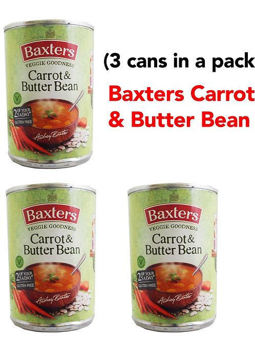 Baxters Carrot & Butterbean (3CANS)