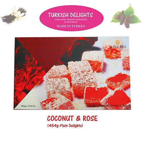 Coconut Rose (454g,Non GMO, Organic) - Made in Turkey
