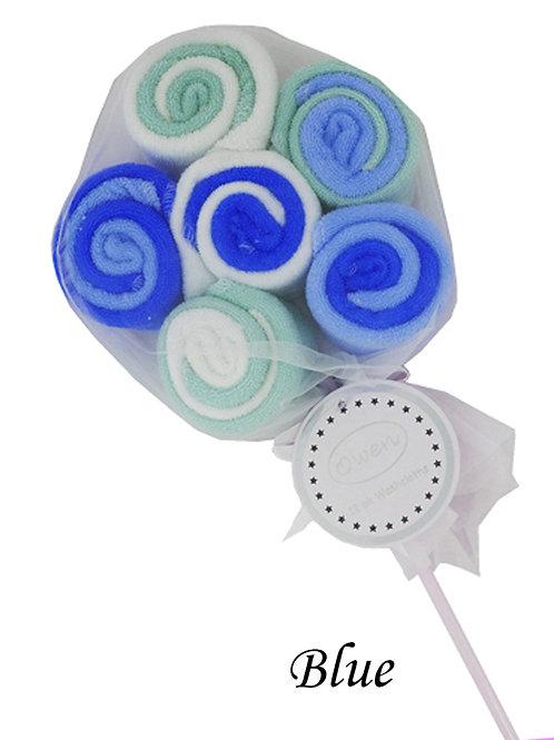 Owen Baby 12-pc Flower Napkin (Knit Washcloth)