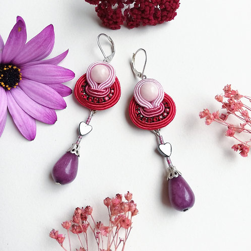 B.O. Chain Rouge et rose