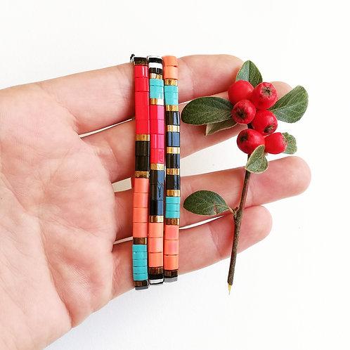 Bracelets Miyuki Tila