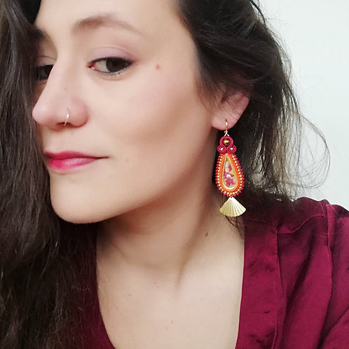 B.O. Ariel rouge/orange