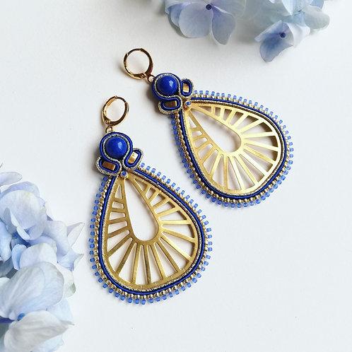 B.O. Inca Bleu et doré