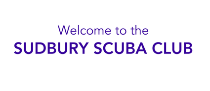Sudbury Scuba Club Welcome