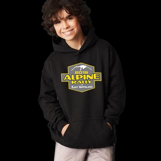 2019 Alpine Rally Logo Kids Hoody