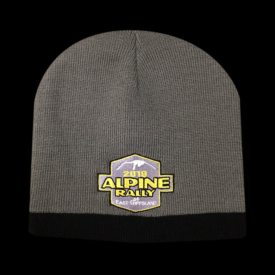 2019 Alpine Rally Beanie Grey