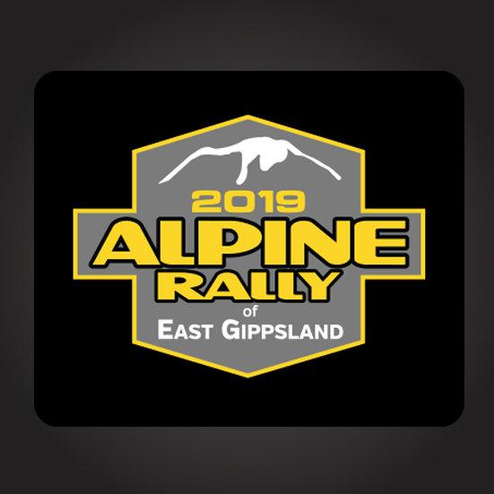 2019 Alpine Rally Sticker