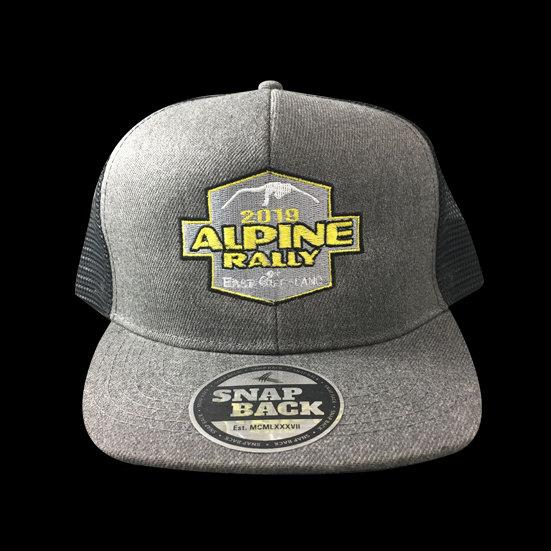 2019 Alpine Rally Trucker Snap Back