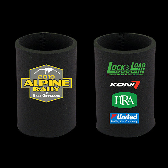 2019 Alpine Rally Sponsors Stubby Holder