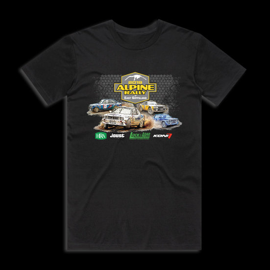 2019 Alpine Rally T'shirt - Cars