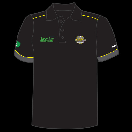 2019 Alpine Rally Merch Polo Shirt