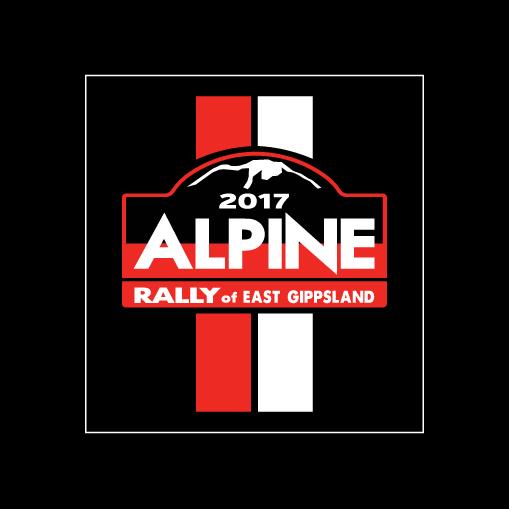 2017 Alpine Rally Sticker
