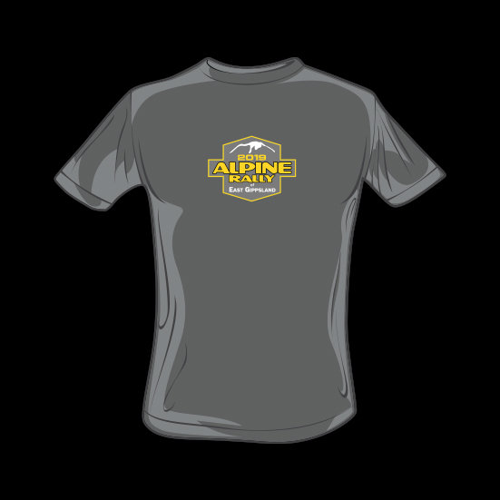 2019 Alpine Rally T'shirt - Grey