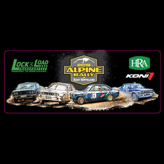 2019 Alpine Rally Cars Bumper Sticker