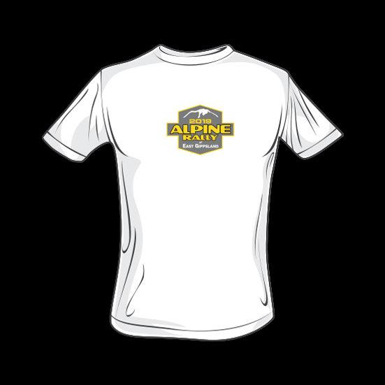 2019 Alpine Rally T'shirt - White