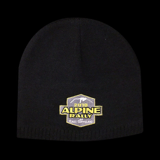 2019 Alpine Rally Beanie Black
