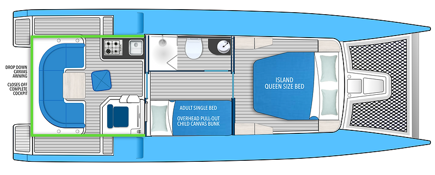 yacht floor plan