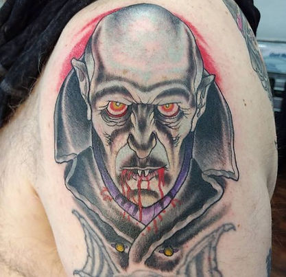The Count tattoo by Kip