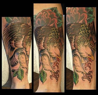 Eagle coverup by Kip