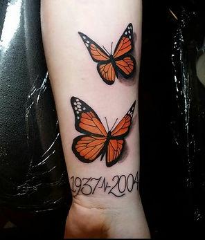 butterfly tattoo by John